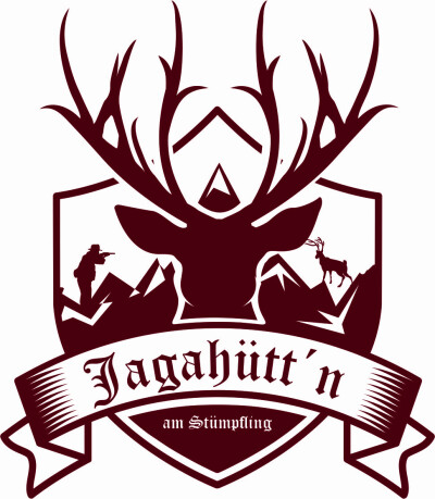 Logo von Jagahütt'n am Stümpfling