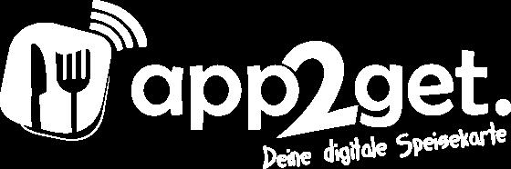 Logo von app2get - Digitale Speisekarte